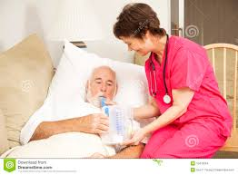 N Home Health Care by Home Nursing Breathing Exercise Stock Images Image 15478354