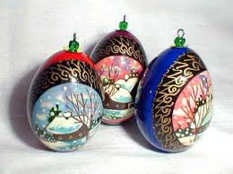 egg ornament russian legacy