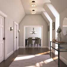 semi flush mount foyer light minka lavery 4107 172 smoked iron parsons studio semi flushmount