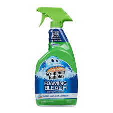 Best Cleaner For Bathtub Soap Scum Scrubbing Bubbles 32 Oz Foaming Bathroom Cleaner With Bleach