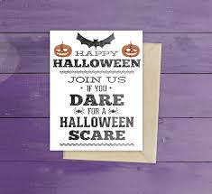 Halloween Birthday Invitations Printable Free Printable Halloween Party Invitation The Graffical Muse