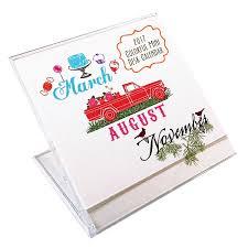 mini desk calendar 2017 amazon com colorful mini desk calendar 2017 handmade creative