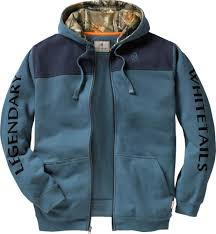 mens sportsman full zip hoodie legendary whitetails