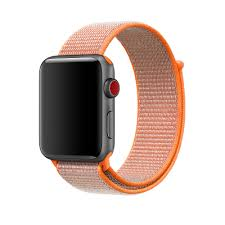 42mm spicy orange sport loop apple