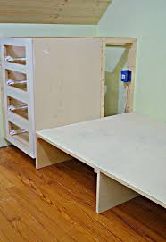 How To Make A Built In Bed Using Stock Kitchen Cabinets Hometalk - Built in cabinets for kitchen