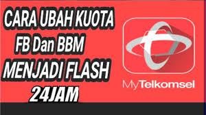 kuota bbm dan fb telkomsel cara mengubah kuota fb dan bbm telkomsel menjadi kuota biasa youtube