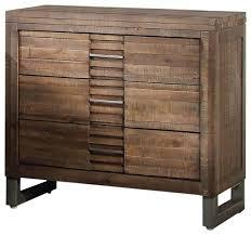andria nightstand reclaimed oak finish rustic nightstands and