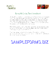 revocable living trust sample pdf free u2014 76 pages