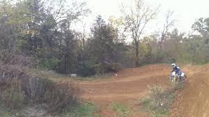 travis hodges knack knack on a backyard arenacross style track on