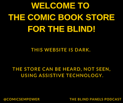 Free Audio Books For The Blind Comics Empower The Comic Book Store For The Blind
