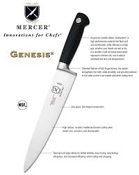 mercer cutlery 6 piece forged knife block set kitchen knives ebay mercer cutlery the genesis series