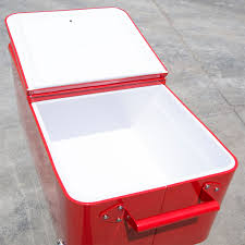 Outdoor Patio Cooler Cart by Outdoor Patio 80quart Party Portable Rolling Cooler Cart Ice Beer