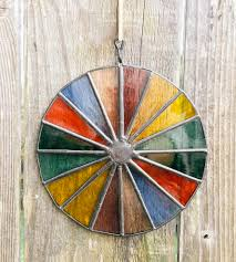 mini vineyard stained glass color wheel home decor u0026 lighting