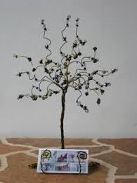 designs springy wire trees cone confetti holders