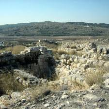 This image shows ruins of a       year old temple found at the site of Tel Beth Shemesh  Tel Aviv University