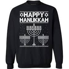 hannukah sweater christmas sweatshirt happy hanukkah christmas sweater