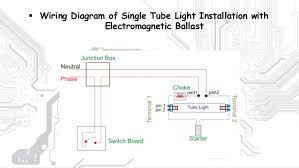stair case wiring and tubelight wiring