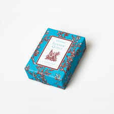 paper wrapped soap quince classic toile paper wrapped bar soap