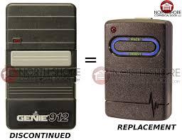 Overhead Door Remote Replacement Genie Gt912 Transmitter For 390hmz Garage Door Openers 35673r