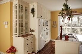 White And Yellow Kitchen Ideas - white kitchen cabinets yellow walls interior design