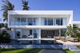 private beach villas offer spectacular ocean views and luxurious