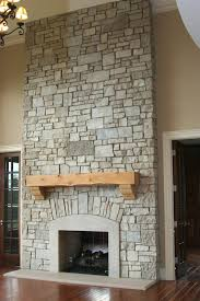 fireplace terrific refacing stone fireplace for house ideas