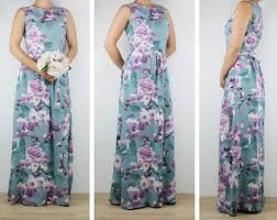 floral maxi bridesmaid dress floral maxi dress etsy