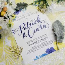 wedding invitations quezon city watercolor archives ink scribbler