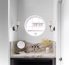 gold and brown granite vanity countertop and backsplash