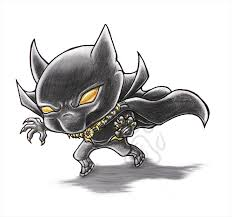 chibi black panther by emeraldsora on deviantart