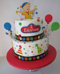 caillou birthday cakes decoration ideas birthday cakes