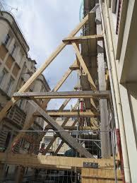 le bureau caen consolidation d une façade par contreforts autre ibatec bois