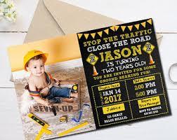 construction birthday invitation construction invitation