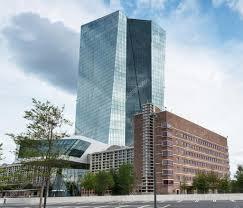 bce sede centrale edificio della centrale europea bce a francoforte sul meno
