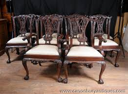 Chippendale Dining Room Chairs Dining Chairs Mahogany Mahogany Dining Room Set Home Design