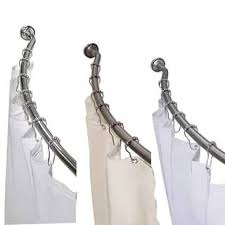 Chrome Curved Shower Curtain Rod Shower Curtain Rods Shop The Best Deals For Nov 2017 Overstock Com
