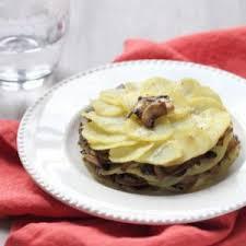 recette de cuisine a base de pomme de terre millefeuille de pomme de terre aux chignons