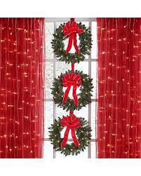 Pre Lit Mini Christmas Tree - tis the season for savings on brylane home set of 3 cordless pre