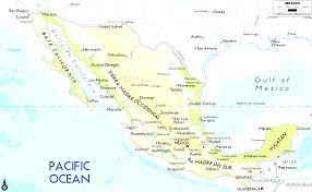 Map Of Jalisco Mexico by Mexico And Map Of Mixico Evenakliyat Biz
