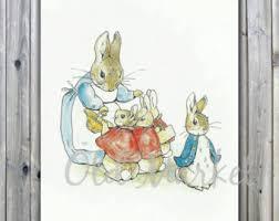 peter rabbit clipart etsy