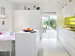 kitchen bright white modern kitchen renovation mixed with light