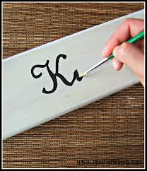 how to make decorative signs for your home elle cherie