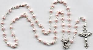 pearl rosary variety of rosaries with pearl wooden metal and wooden