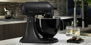 Kitchen Aid Mixers by Kitchenaid All Black Mixer Now Available All Black Limited Edition