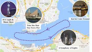 hong kong light show cruise star ferry harbour tour klook