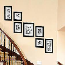 stairway decor idea decorating ideas for stair walls best Ideas To Decorate Staircase Wall