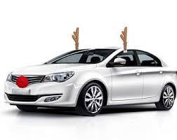 car reindeer antlers reindeer car costume etsy