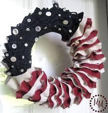 4th of july wreaths 14 diy 4th of july wreaths easy ideas for fourth of july wreath