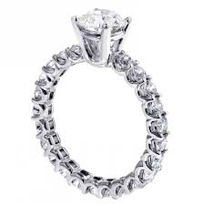 all diamond ring vip jewelry 2 60 ct brilliant cut diamond engagement ring in