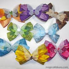 tinkerbell ribbon rts tinkerbell fairy friends bows magical ribbons